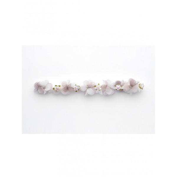 Νυφικό Αξεσουάρ Καλτσοδέτα με λουλούδια