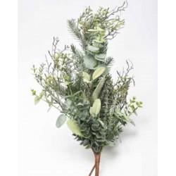 Διακοσμητικό Λουλούδι Μπρανς Mix Φυλλωματα 60CM