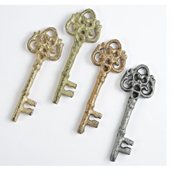 Μπομπονιέρα Κλειδί Σε Τέσσερις Αποχρώσεις