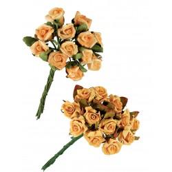 Διακοσμητικό Μπουκέτο Τριαντάφυλλα